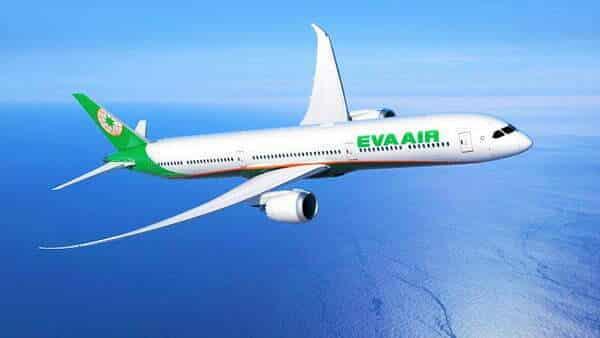 Hãng hàng không Eva khai thác chặng bay đến Mỹ