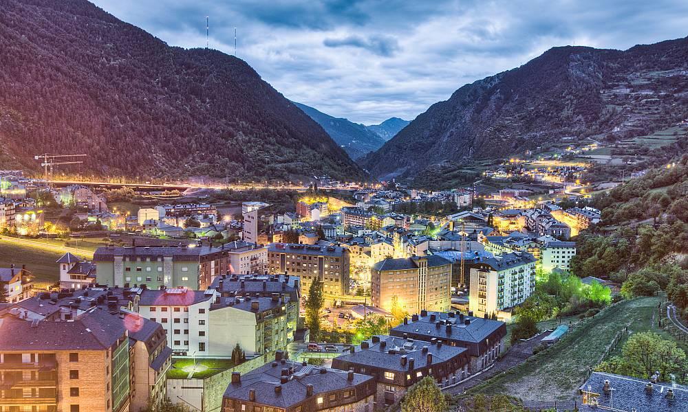 Các hãng hàng không bay đi Andorra