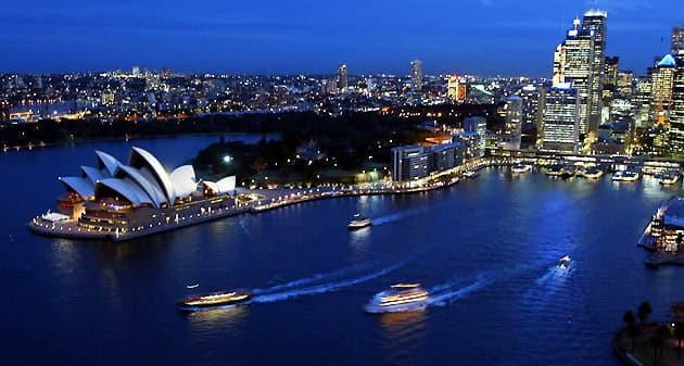 Hãng hàng không bay đi Úc