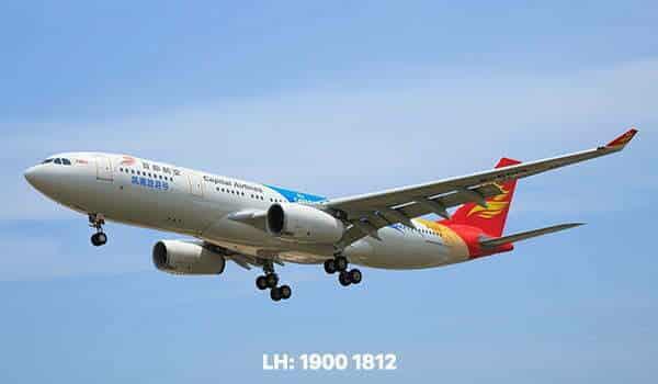 Văn phòng đại diện Beijing Capital Airlines tại Việt Nam