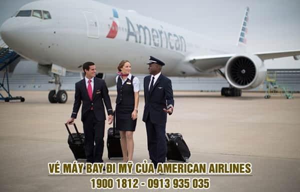 Vé máy bay đi Mỹ của American Airlines