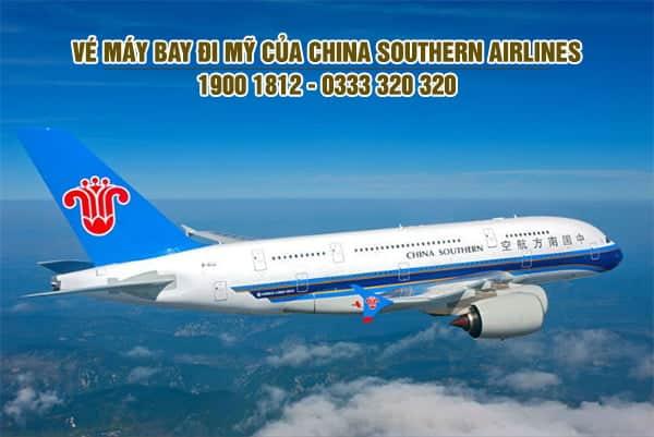vé máy bay đi Mỹ của China Southern Airlines
