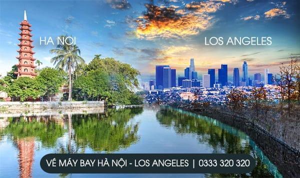 vé máy bay từ Hà Nội đi Los Angeles