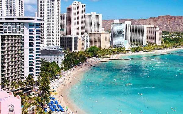 đặt vé máy bay United Airlines đi Honolulu