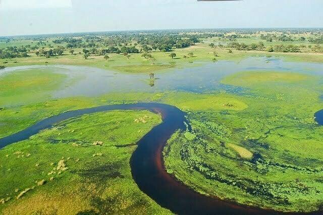 Vé máy bay đi Botswana
