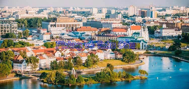 Vé máy bay đi Belarus giá rẻ